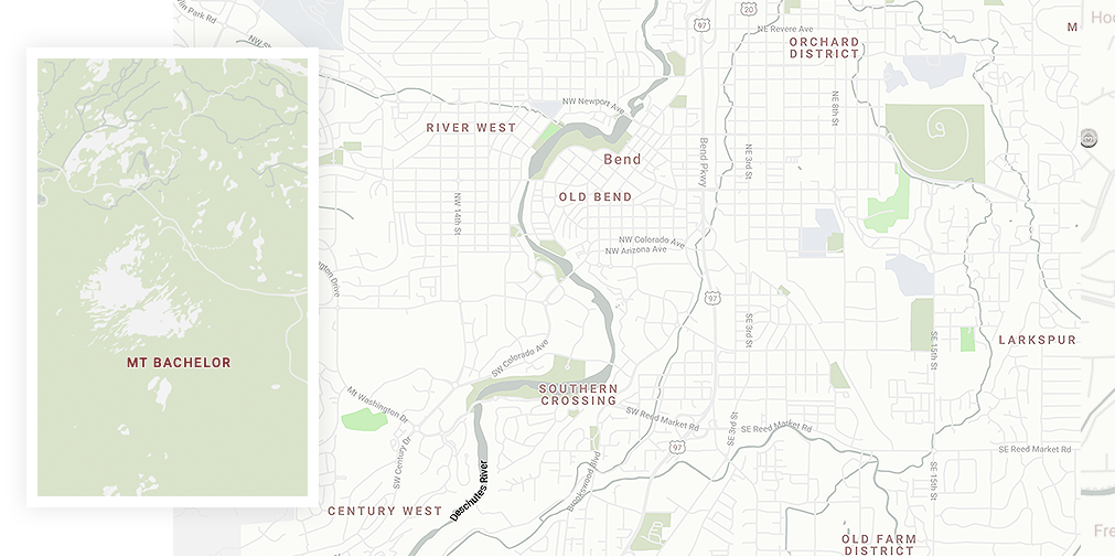 Map of Nearby Attractions